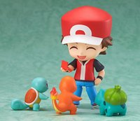 Wholesale High Quality Cute Poke mon PVC Action Figure face changed Kids Cartoon Movie Free Transform Toys Doll Gift for children