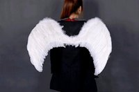 Wholesale Multi color Adult children prom dress stage performance supplies feather angel wings New Fashion cm For