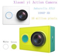 Wholesale 100 Original XIAOMI YI sport action wireless bluetooth kamera MP x1080p camara deportiva camcorders WIFI bluetooth