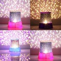 amazing christmas presents - Romantic Amazing Cosmos Moon Colorful Master Star Sky Universal Night Light Kid Chidren Projector lamp Christmas Gift Present
