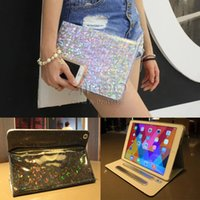 automatic print screen - Bling Colourful Print Case Automatic Wake Sleep Magnetic Grades Stand Tablet Case Filp Cover For ipad Air mini