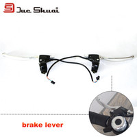 Wholesale Electric Bike Silvery Brake Lever cm Normal Wire Mountain Bike Adapter Component Disco Braking System Wheel Rotor Guide Deore