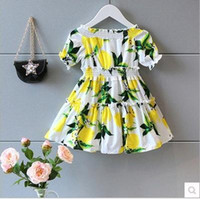 batik tshirts - 2016 New Girls Dress Baby Dress Summer baby dress Brand children clothes fawn bowknot baby shirts skirts girls tshirts kids topwear