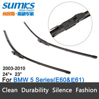 Wholesale Wiper blades for BMW Series E60 E61 quot quot fit pinch tab type wiper arms only HY