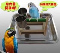 Wholesale Super practical portable desktop stand parrot desk training toys
