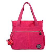 Wholesale Factory Direct Summer New Waterproof Nylon Shoulder Bag Fashion Women Handbags Portable Diagonal Bag