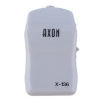 Wholesale AXON X Analogue Pocket Hearing Aids Personal Sound Voice Hearing Amplifier Low Noise Low Distortion Mini Size Light Weight White Color