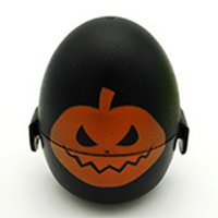 Wholesale Halloween Styles Toys Plastic Eggs Plastic Percussion Maracas Shakers Musical Egg Noisemaker Toys Wedding Party decoration Plastic Toys