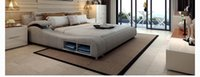 Wholesale Modern leather bed meters double bed bed bed tatami leather furniture