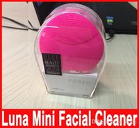 Wholesale Rechargeable Luna Mini Ultrasonic Beauty Instrument Super Facial Cleaner Waterproof Charge Electric Luna Brightening Cleansing Hot