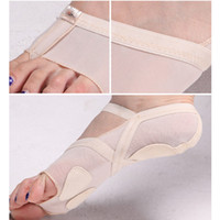 athletics adjustable ankle - hot sale ladies Cozy Breathable Adjustable Belly dance toe Thong Metatarsal Pads Forefoot cushion shoes for ballet belly latin dance