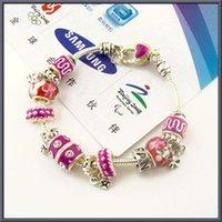 av day - 2016 fashion Cham Bracelets by pand ora bracelets sätt av armband Dazzling fashion chain