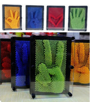 Wholesale high quality D Cloning Metal Hand Touch Creative Plastic Decoration Personality Toys