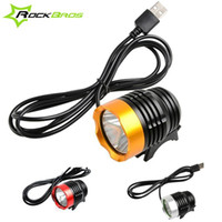 Wholesale 1200 Lumen LED Bike Bicycle Lights Cycling Headlight MTB Mountain Road Flashlingt Waterpoof Front Light USB Colors B081