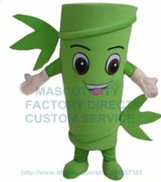 bamboo mascots - Bamboo mascot costume for sale adult size cartoon bamboo tree theme anime cosply costumes carnival fancy dress