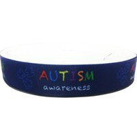 other autism grosgrain ribbon - 7 inch Customized autism awareness Printed Ribbon Grosgrain Craft Pink Breast Cancer mm Ruban Girl Bows Webbing Accessory Cintas Yards