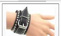 atmosphere layers - Europe and the United States to restore ancient ways the first layer leather bracelet Wide bracelet Simple personality atmosphere bracelet