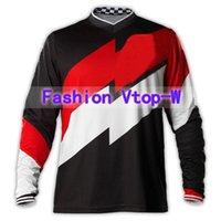 astro shirt - GP Astro Black Red White MX ATV Moto GP Mountain Bike Motocross Jersey BMX DH MTB T Shirt Clothes