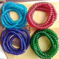 Wholesale colored glass beads separated from the beads DIY beads beads beads beads semi finished bracelet necklace accessories