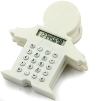 battery alarm clocks manufacturers - factory selling whiilesale Cute villain manufacturers supply calculators baby calculators clip calculator gift calculator