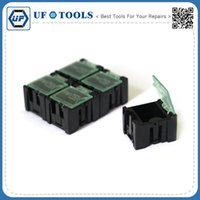 Wholesale Component storage box Components Boxes SMT SMD ESD IC Component box Antistatic component box