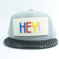 adult jigsaw puzzles - 2016 New Hot Jigsaw Ball Caps Men Baseball Cap Teenager Puzzle Hat Women Fashion Caps DIY Baseball Caps