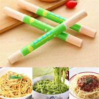 Wholesale 1 pc Wooden Rolling Pin Bakeware High Quality Dessert Tools cm Non Stick Sugar Craft Pastry Noodles Tools