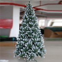 bazaar gifts - New Year s gift home decoration Lin Jie m PVC Christmas tree cm spray snow Christmas tree decoration Christmas bazaar