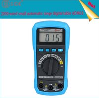 appliance voltage - Appliance ADM02 BSIDE automatic range digital universal meter voltage current resistance temperature measuring instrument universal table