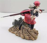 anime figures sexy - Gzcj God Eater Battle Alisa Llyinichna Omela Action Figure Anime Games Sexy Model Toy