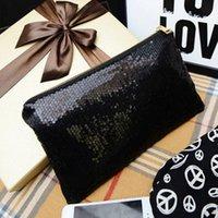 Wholesale The new Korean fashion wild sequins zipper clutch bag women s handbag evening bags