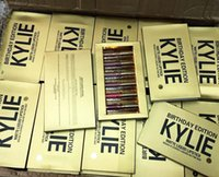 Wholesale 2016 Golden Kylie Jenner Lipkit Limited Edition Birthday CONFIRMED Matte Lipstick high quality
