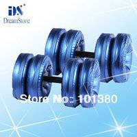 Wholesale RoHS approved pair New Creation Cheap Adjustable Dumbbell Water Dumbbells from China manufacture