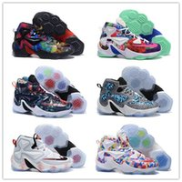 b heat - New Basketball Shoes Lebron For Men s Retro Walking Sneakers Athletic XIII LB13 Sport Boots Shoes Size