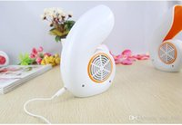 Wholesale Refrigeration and air conditioning fan mute lar Creative turbine conch bladeless fan USB mini fan portable fan student desk fan