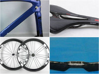 Wholesale 2017 Carbon road bike full carbon fiber bicycle mattE glossy carbon road wheelset handlebar and saddle