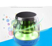 audio birthday cards - Wireless Bluetooth Speaker With LED Light Party Celebration Speaker Mini Portable Speaker Support TF Card Nice Birthday Gift