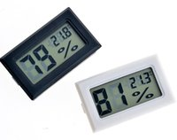 Wholesale 2000pcs Fy black white embedded Digital temperature humidity meter to to degree