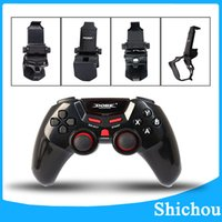apple joystick - Hot sell TI Bluetooth Wireless Game gamepad Controller Joystick for Android IOS Apple Smart Mobile Phone Tablet PC