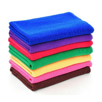 Wholesale 2017 Microfiber Car Cleaning Towel cmx30cm Microfibre Car wash Cloth Hand Towel Great water absorb ability
