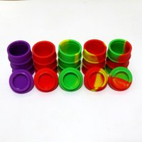 Wholesale 26ml Oil Barrel Superior Quality Non Stick Silicone Container For Wax Bho Oil Butane Vaporizer Silicon Jars Dab Wax Container