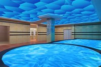 Wholesale 3D Shimmering Water pvc stretch ceiling for swimming pool