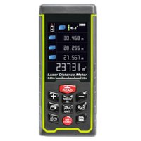 area display - SW S50 Color display Rechargeable m Laser distance meter Rangefinder Tape with Bubble Level measure Area Volume Tool