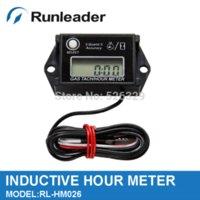 Wholesale Resettable RPM Tachometer hour meter for ATV Motorbike Quad Jet Ski Outboards meter tape meter rate