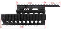 Handguard Rail ak rail airsoft - Vector Optics Tactical AK RIS Handguard Picatinny Quad Rail System Mount with Guard Covers Fit Real Airsoft