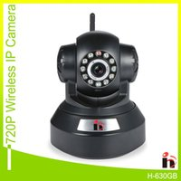 Wholesale H MP HD P IP Camera Wifi P2P Wireless Security Camera Night Vision With Micro SD Card Solt IR Cut Two Way Audio Webcam