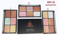 Wholesale MC brand Professional Facial Concealer Cream Foundation Makeup Camouflage concealer Palette High Quality DHL