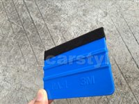 squeegees - 3m blue squeege car wrap tool blue squeegee d carbon fiber wrapping scraper tools with size x cm DHL