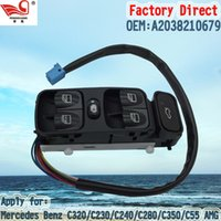 benz c class - Factory Direct Master Electric Auto Power Main Window Switch A2038210679 Apply for Mercedes W203 C CLASS CLK200 CLK280 CLK350