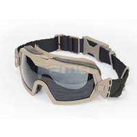 Wholesale Tactical Style Regulator Updated Version With TurboFan Hiking Eyewear BK TAN